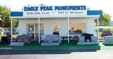 Eagle Peak Monuments Storefront